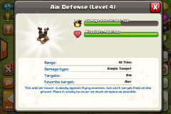 Air defense coc