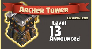 archer tower level 13