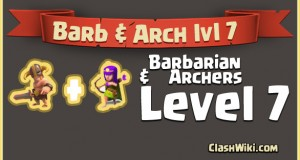 Barbarian and archer level 7