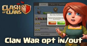 Clan war opt in and opt out coc