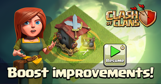 coc boost improvement