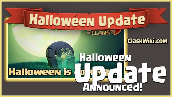 coc halloween update