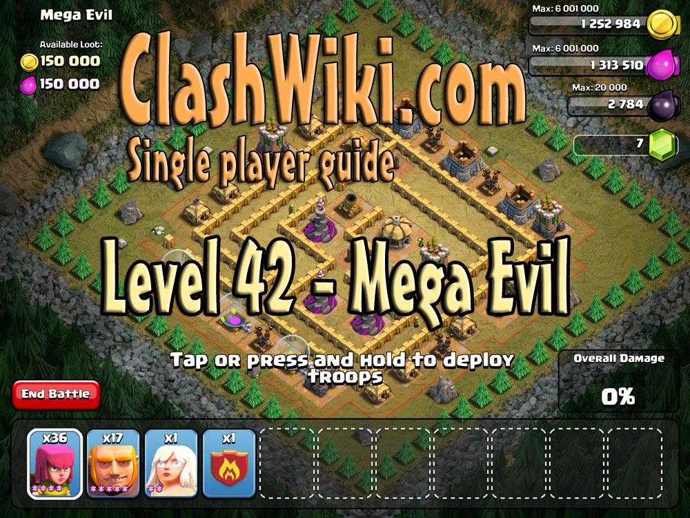Level 42 – Mega Evil | Clash Of Clans Wiki | 1000 x 750 jpeg 274kB