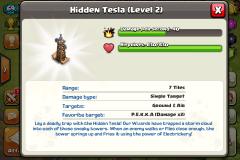 Hidden Tesla coc