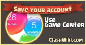 save your clash of clans account