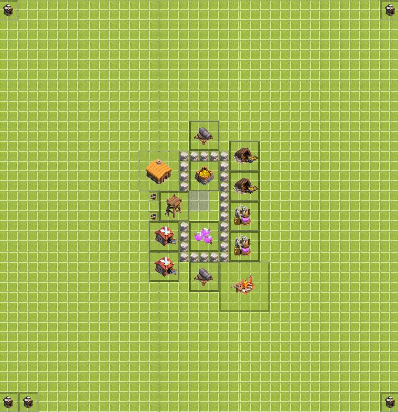 TH2 Farming base