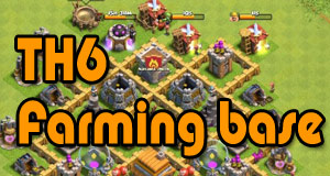 TH6 Farming Base layout