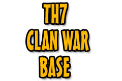 TH7 clan war base
