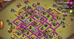 th8 clan war base layout