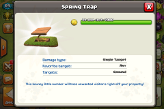 Traps   Clash Of Clans Wiki