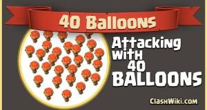 40 balloons coc