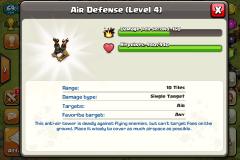 Air defense coc