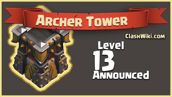 archer tower level 13