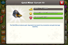 Gold Mine COC