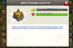 Gold Storage coc