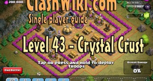 Level 43 crystal crust