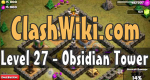 obsidian tower coc