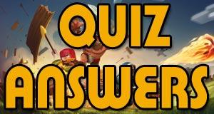 coc quiz answers