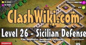 sicilian defense coc