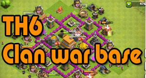 th6 clan war layout