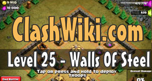 walls of steel coc