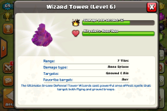 wizard tower coc